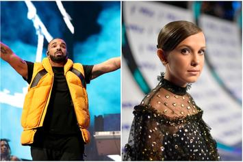 Here's Drake and Stranger Things' Millie Bobby Brown Doing Their Best Eleven Poses