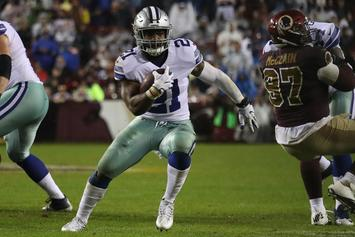 "Ezekiel Elliott Leaving U.S. During Suspension To ""Clear His Head:"" Report"