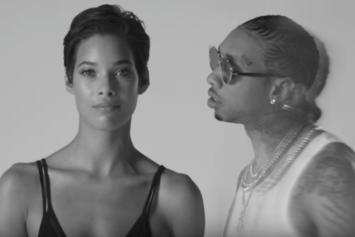 "Tyga Delivers Black & White Visuals For ""Tequila Kisses"""