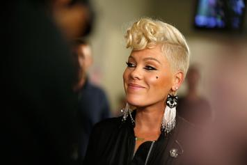 Pink Denies Cringing At Christina Aguilera's Whitney Houston Tribute