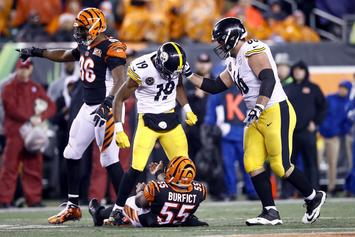 NFL Announces Suspensions For Steelers, Bengals Players
