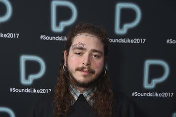 Post Malone Apologizes To Mom For New Face Tattoo