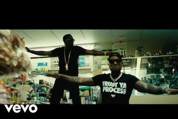 "Jeezy & Diddy Live Lavishly In The ""Bottles Up"" Video"