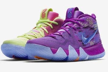 """Nike Kyrie 4 To Debut In """"Confetti"""" Colorway This Weekend"""