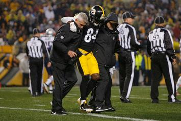 Antonio Brown Suffers Partially Torn Calf, Steelers Give Injury Update