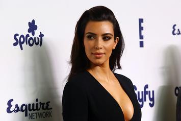 Kim Kardashian Shares Holiday Family Portrait; Kylie Jenner Notably Absent