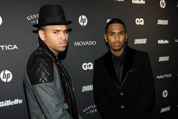 Chris Brown Trolls Trey Songz In Selfie Comments Section; Songz Responds