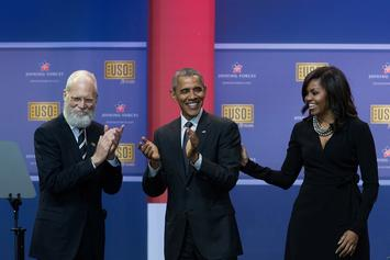 "Barack Obama Explains His ""Dad Dancing"" Technique To David Letterman"