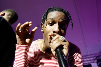 A$AP Rocky Debuts New Music Off Upcoming Album At Yams Day