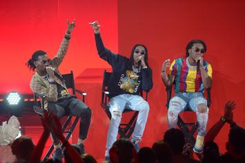 "Migos Perform ""Stir Fry"" On Jimmy Fallon"
