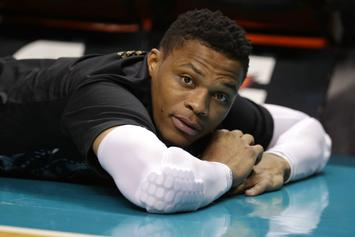 """Russell Westbrook Reacts To Being """"Last Pick"""" In NBA All-Star Draft"""