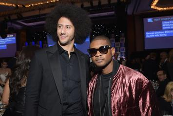 Usher Helps Colin Kaepernick Complete $1M Pledge Goal With $10K Donation