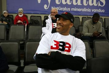 LaVar Ball Sliding Into HS Players' DM's To Recruit Them For JBA