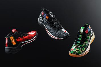 Adidas Unveils Bape x Dame 4 Collab For All-Star Weekend
