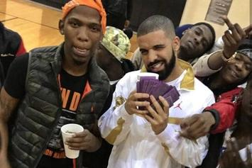 "Drake & BlocBoy JB Get Jiggy In New Video For ""Look Alive"""