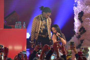 """Cardi B Bought Offset An Elaborate """"Bando"""" Chain For Valentine's Day"""