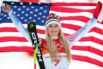 Lindsey Vonn Wins Bronze In Final Olympic Downhill Competition