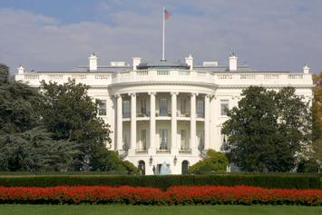 White House On Lockdown After Car Hits Security Barrier