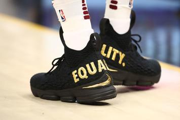 "LeBron James Announces ""Equality"" Nike LeBron 15 Release Info"