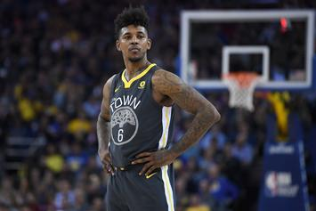 """Nick Young Laces Up """"Blush"""" Yeezy 500 Against Knicks"""
