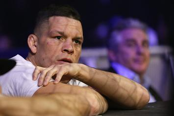 Nate Diaz Nearly Lights Joint On Live TV During UFC Austin