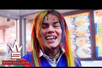 "Tekashi 6ix9ine Mobs Out For The ""BILLY"" Video"
