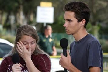 Florida Shooting Survivor David Hogg Contacted FBI After Death Threats
