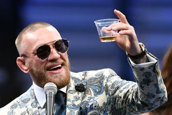 Conor McGregor Claps Back At 50 Cent By Saying He Has Man Boobs