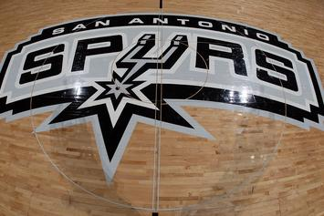 Watch: San Antonio Spurs Mascot Dons Romper Before Game
