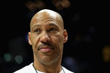 """LaVar Ball Accepts Ice Cube's """"4-Point Challenge"""""""