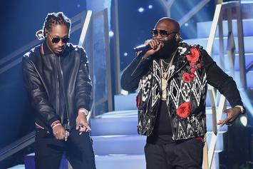 Future & Rick Ross Reunite At The Club