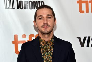 """Shia LaBeouf Says Kanye West """"Took All"""" His Clothes"""