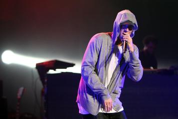 "Eminem Shares Behind The Scenes Footage Of ""River"" Video"
