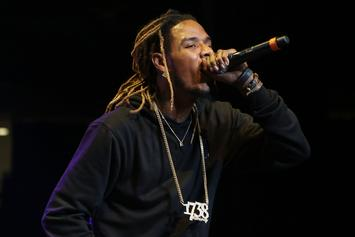 Fetty Wap's Motorcycle Crash Injuries Sent Him Back To The Hospital