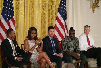 Wale Joins Michelle Obama For White House Education Panel