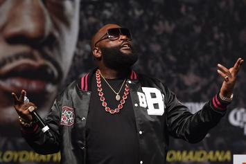 """Rick Ross Facing Lawsuit For Using Old Jay Z Photo In """"Movin' Bass"""" Video"""