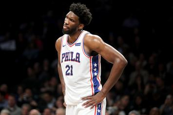 """Joel Embiid Posts Update From Hospital: """"Not Good"""""""