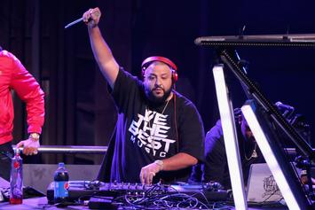 DJ Khaled Performed Pre-Game For Miami Marlins & Almost Nobody Showed Up