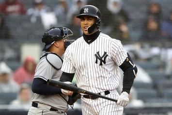 Giancarlo Stanton Booed In Yankee Stadium Debut After 5 Strikeouts