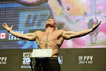 Brock Lesnar Returning To UFC, Says Dana White
