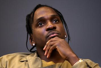 """Pusha T Speaks On Clipse's """"Grindin'"""" Almost Going To Jay-Z, Says Drug Dealers Made The Record A Hit"""