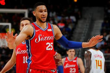 "Ben Simmons Responds To Donovan Mitchell's ""Rookie"" Sweatshirt"