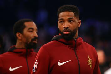 Mystery Woman Caught Allegedly Kissing Tristan Thompson Identified