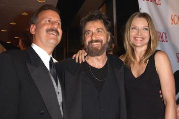 """Michelle Pfeiffer Asked Rude Question At """"Scarface"""" Tribeca Film Fest Reunion"""