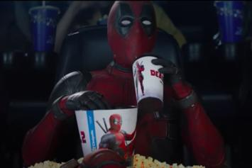 Deadpool Watches His Own Movie Trailer In New Teaser