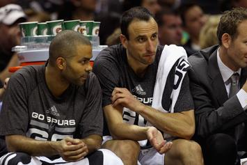Manu Ginobili, Tony Parker Make NBA History In Win Over Warriors