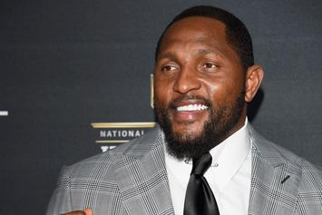 """Ray Lewis Channels Nelly For His """"Lip Sync Battle"""" Performance"""