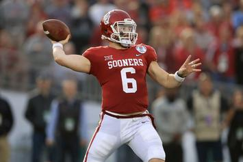 """Cleveland Browns """"Definitely"""" Considering Baker Mayfield As #1 Pick"""