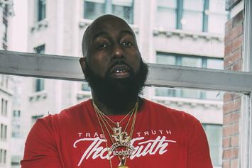 Watch Trae Tha Truth Push A Bullet Out Of His Arm