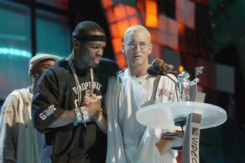 """50 Cent Thinks Eminem Is Underrated, """"More Hood Than So Many People Out There"""""""